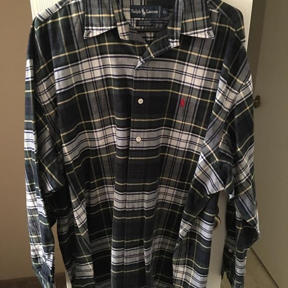 Polo Ralph Lauren Big Shirt 100% Cotton